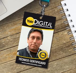 Jose Luis Quispe Ysasi, técnico certificado Yale en Perú.